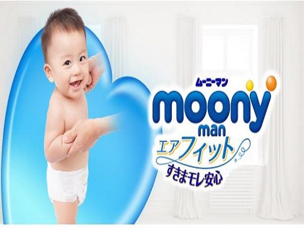 Những ưu điểm của tã giấy Moony Nhật Bản