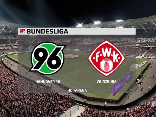 Soi kèo Hannover vs Wurzburger Kickers – 23h30 08/04/2021
